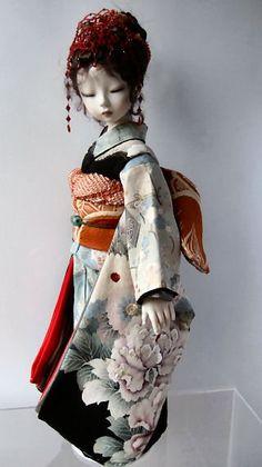 Нежность(изящные куклы в кимоно). Обсуждение на LiveInternet - Российский Сервис Онлайн-Дневников