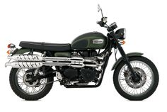 """Triumph Scrambler: Clara's wheels from """"The Day of the Doctor."""""""