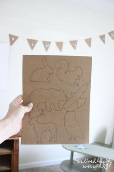 Free Animal Silhouette Printables | We Lived Happily Ever After | Bloglovin'