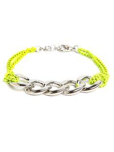 Day Glo Chain Bracelet - Bracelets - FUNCTION: Shop All