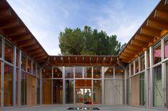 Umerani courtyard house by Bohlin Cywinski Jackson Architects