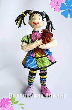 New beaded toys by Ulyana Volhovskaya | Beads Magic