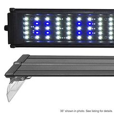 "Beamswork ELF 900 LED Pent 36"" Aquarium Light Marine FOWLR Cichlid 120x 0.50W ** You can get more details by clicking on the image."