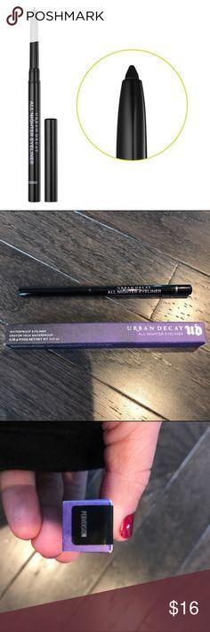 Urban Decay All Nighter Eyeliner Waterproof eyeliner. Color is Perversion Urban Decay Makeup Eyeliner