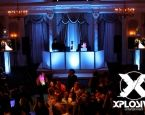 A high energy, fun, and elegant DJboothsetup. This one, a real wedding setup at The Pleasantdale Chateau in West Orange, NJ. For more information on this venue go to www.pleasantdale.com/. #XplosiveEntertainment, #partyentertainment, #LEDDJBoothsetup, #PleasantdaleChateauNJ.