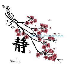 cherry blossom tree pattern - Google Search