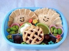 """Check out our Best of Money Carnival edition, where we showcase top articles in personal finance along with awesome """"bento food art""""! Bento Recipes, Lunch Box Recipes, Bento Ideas, Lunch Ideas, Food Ideas, Bento Box Lunch, Lunch Snacks, Lunch Boxes, Cute Food"""