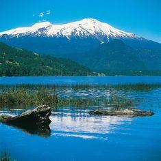 Lago Neltume, Volcàn Mochoco, Sur de Chile