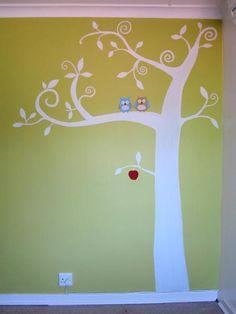 kids rooms painted tree   Kids Rooms 1 2 3 4 5 6 7 8
