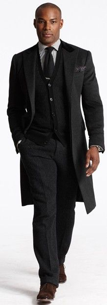 Ralph Lauren Fall 2013: Tyson Beckford still has it :)