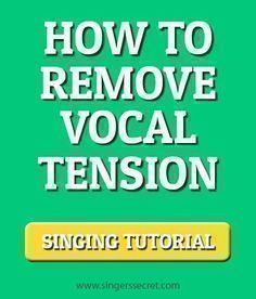 An indepth singing tutorial on how to reduce vocal tension and sing without straining. http://singerssecret.com/how-to-sing-without-straining/ #singing #singingtips #howtosing
