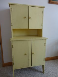 kitchen furniture cabinets vintage childs wood kitchen cupboard cabinet hutch 1747