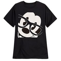 Glasses Mickey Mouse Tee for Men