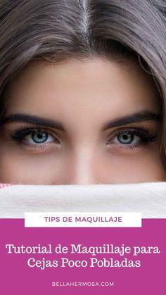 Tutorial de Maquillaje para Cejas Poco Pobladas