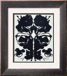 Rorschach Giclee Print by Andy Warhol at Art.com