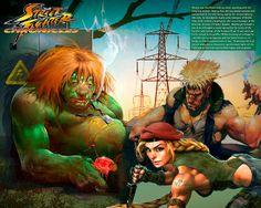 Manaós Sa Ltda: O futuro dos personagens de Street Fighter, por Ar...