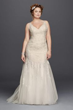 Unique David us Bridal has beautiful plus size wedding dresses that e in a variety of sizes u
