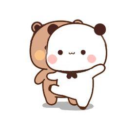 Cute Anime Cat, Cute Bunny Cartoon, Cute Kawaii Animals, Cute Cartoon Pictures, Cute Love Pictures, Cute Cat Gif, Cute Hug, Cute Love Gif, Chibi Cat