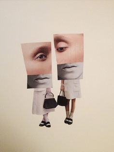 CutandPaste: A simple title for a simple art collection... #collages via espacios-parentesis