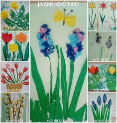jarní květiny - Galerie nápadů, tvoření pro děti v mš Plants, Planters, Plant, Planting