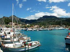 Mallorca by HolaKim | Port de soller / Puerto de soller