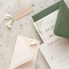 Traditional Wedding Invitations, Green Wedding Invitations, Wedding Stationary, Sydney Wedding, Dream Wedding, Wedding Paper, Wedding Cards, Olive Green Weddings, Invitation Suite
