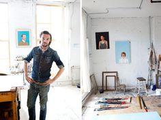 Oliver Jeffers: Ilustrador, pintor, escritor de livros infantis e contador de histórias