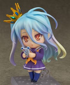 No Game No Life - Shiro - Nendoroid - Good Smile Company (Dez 2016) - SD-Figuren / Nendoroids - Japanshrine