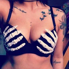 tattoos and piercing..