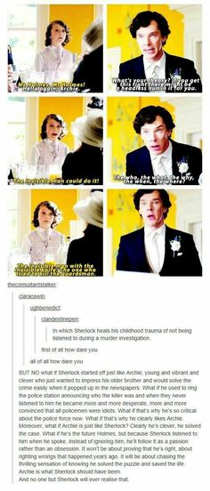 I don't watch Sherlock but this is really cute