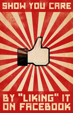 Show You Care by 'Liking' it on Facebook