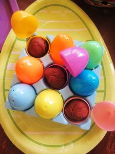 Homespun With Love: Kids Play: Chocolate Easter Play Dough