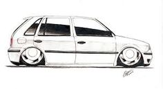 8 Melhores Imagens De Carros Rebaixados Desenho Carros