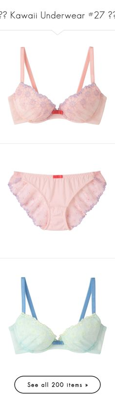 """♦︎ Kawaii Underwear #27 ♦︎"" by yandereotaku ❤ liked on Polyvore featuring lingerie, intimates, underwear, bras, yellow bra, lace bra, lace underwire bra, purple lace bra, yellow lace bra and panties"