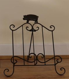Cast Iron Recipe Book Holder with Pig Decor | Accessories | Reed ...