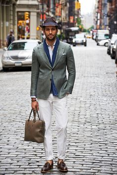 SuitSupply summer 2013 Lookbook Check out their Washington fit green linen jacket