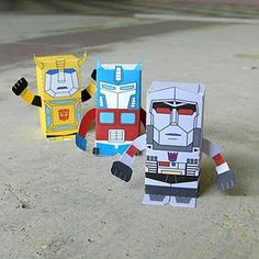 Cute idea for valentines box or make your own transformers toys Transformers Birthday Parties, 6th Birthday Parties, Boy Birthday, Birthday Ideas, Valentine Day Boxes, Valentines For Boys, Transformers 5, Rescue Bots Birthday, Transformer Birthday