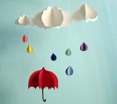 It's Raining Mobiles Etsy Finds   Apartment Therapy