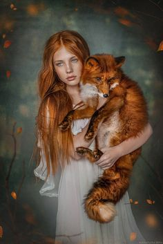 The Finest Sexy Life - Mystisch schön Beautiful Creatures, Animals Beautiful, Cute Animals, Beautiful Women, Foto Fantasy, Fantasy Art, Fantasy Photography, Animal Photography, Art Fox