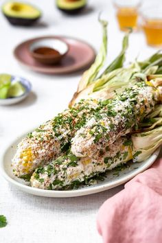 Mexican Street Corn made two ways - Grilled Mexican Street Corn and Skillet Mexican Street Corn - Both easy to make and ready in less than 30 min. #recipe #mexicancorn #mexicanfood #mexican