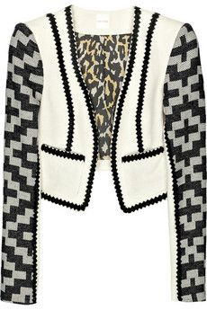 Sass & bide Heart In A Cage tweed jacket | NET-A-PORTER