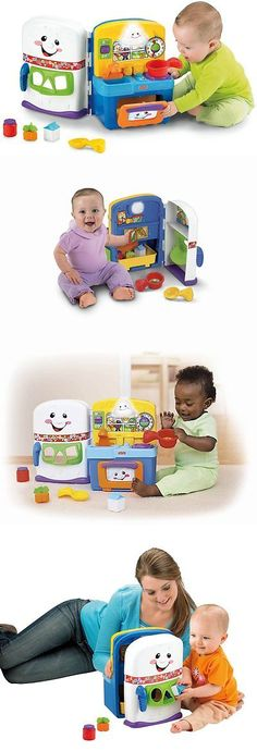 Musical Toys 50306 Laugh Learn Learning Kitchen Baby Fisher Price Music Light Up Toddlers