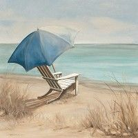 Летние каникулы я Кэрол Робинсон 20x20 в. Art Print