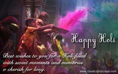 Holi picture scraps and glitter images, happy holi comments for myspace, hi5, orkut, tagged, indyarocks etc.