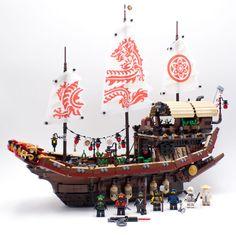 Vite testé : 70618 Destiny's Bounty: Les fans de LEGO aiment les bateaux. C'est comme ça. Et quand LEGO arrête de faire des sets… #LEGO