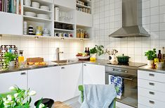 Captivating Scandinavian Kitchen Design Ideas: Colorful Scandinavian Kitchen ~ Manningmarable