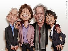 """Rolling Stones"" por Sebastián Cast"