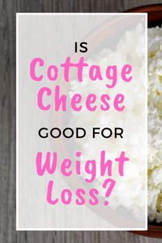 Eating the right things is an important part of your weight loss journey. It can get confusing. Is cottage cheese good for weight loss? Eating the right weight loss foods is important!  #weight loss #weight loss foods #cottage cheese Protein In Cottage Cheese, Eating For Weightloss, Healthy Eyes, Daily Vitamins, Trying To Lose Weight, Weight Loss Supplements, Health Motivation, Weight Loss Journey, Health Tips
