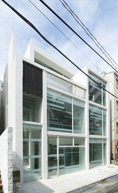 BMA #PROJECT - Designed by Ryuichi Sasaki + Kazuya Nishimura/ Sasaki #Architecture - 港区, #Japan - 2011