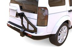 A smart solution for storing your vehicle's spare wheel.